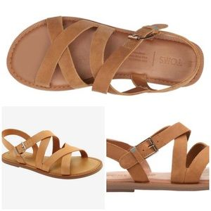 Toms Sicily Honey Leather Sandals